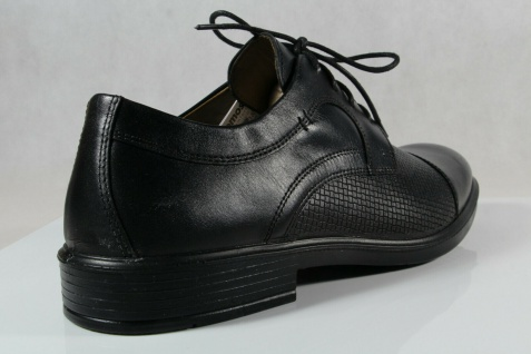 Jomos Halbschuh Sneaker, schwarz, atmungsaktives Wechselfußbett 208218 NEU! - Vorschau 4