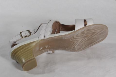 Damen Caprice Neu! Sandalen Sandaletten Echtleder offWeiß Neu! Caprice 609808