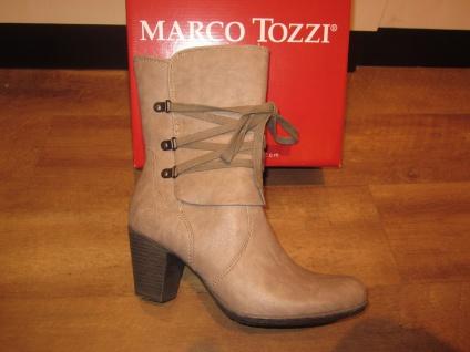 Marco Tozzi Tozzi Tozzi Stiefel, grau/taupe, leicht gefüttert, RV NEU!! 95fbe8