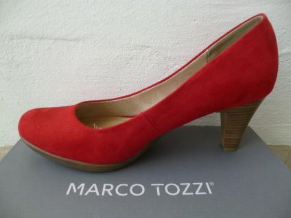 Marco Tozzi Pumps Ballerina Slipper rot NEU! - Vorschau 2