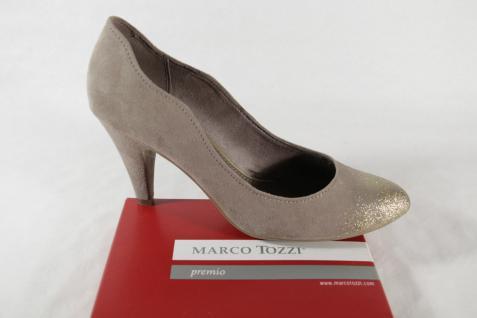 Marco Tozzi Pumps, beige/gold, Synthetik NEU! NEU! Synthetik f51b27