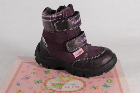 Lillifee Mädchen Stiefel Stiefeletten Boots Leder Tex violett NEU!
