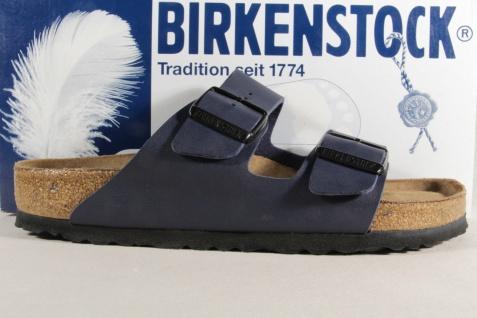 Birkenstock Pantolette Pantoletten NEU! Hausschuhe Pantoffel blau 051061 NEU! Pantoletten fe524e