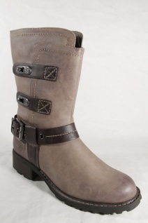 Marco Stiefelette, Tozzi 25406 Damen Stiefel, Stiefelette, Marco Boots taupe NEU! 8b2d93