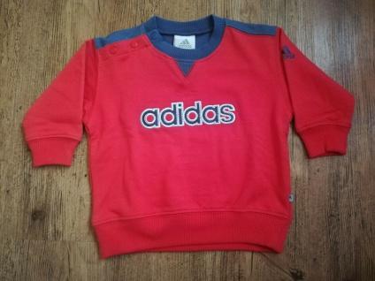 Adidas Jogger Jogginganzug Babyjogger Sweatshirt Sweathose rot dunkelblau NEU - Vorschau 5
