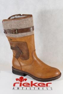 Rieker Damen Tex Stiefel Stiefeletten Winterstiefel braun 94761 NEU