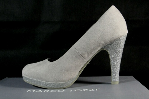 Marco Tozzi Pumps Ballerina Slipper grau 22441 NEU! - Vorschau 3