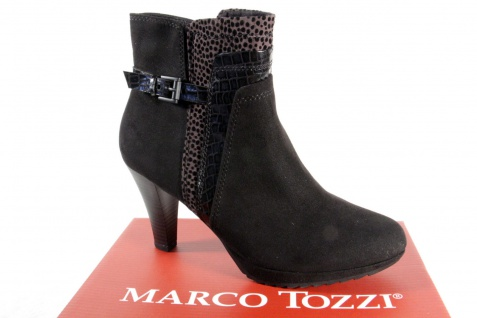 Marco Tozzi 25400 Damen Stiefel, Stiefelette, Boots schwarz NEU!
