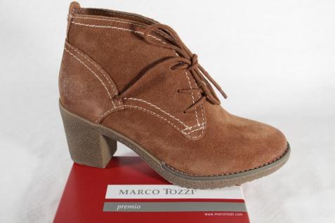 Marco Tozzi Damen Stiefel Stiefeletten Boots Winterstiefel Leder braun NEU!!