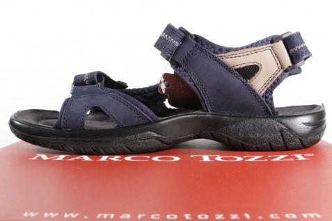 Marco Tozzi Sandaletten Jungen Sandalen Sandaletten Tozzi Leder blau NEU!! 91864a