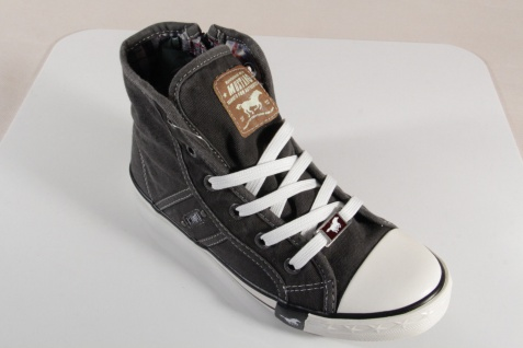 Mustang Stoff Schnürschuh Sneaker Halbschuh grau Gummisohle 5803 NEU NEU NEU Beliebte Schuhe c194cc