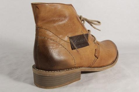 Rieker 72740 Damen Schnürstiefel Stiefel Stiefelette Schuhe Boots braun NEU Beliebte Schuhe Stiefelette 5acf54