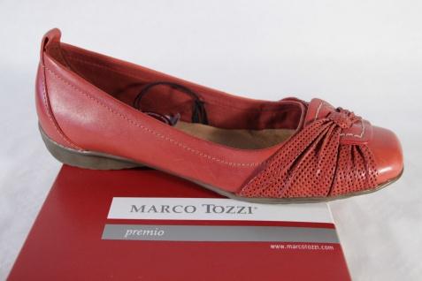 Marco Tozzi Damen weiche Slipper, rot, Gummisohle, weiche Damen Lederinnensohle NEU! d3f632