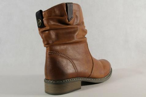 Rieker Stiefel Stiefelette Stiefeletten Boots Winterstiefel braun Z4180 NEU! - Vorschau 4