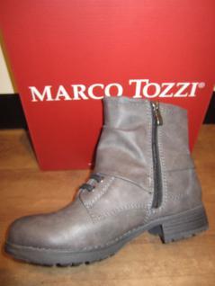 Marco Tozzi leicht Stiefel, Winterstiefel, Stiefel, grau, leicht Tozzi gefüttert, RV NEU!! 37b47c