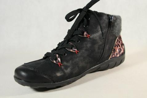 Rieker Damen Stiefel L6513 Stiefelette Schnürstiefel Boots