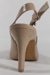 S.Oliver Sling/Sandale, sand/ sand/ Sling/Sandale, beige, Lederinnendecksohle NEU!! 7acfcc