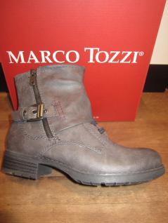 Marco Tozzi Stiefel, Winterstiefel, Boots, grau, leicht gefüttert, RV NEU!!