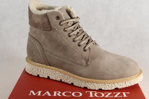 Marco Tozzi Damen Stiefel taupe 26255 Stiefeletten Stiefel Schnürstiefel taupe Stiefel NEU! 6659e5
