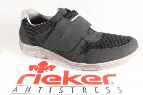 Rieker Herren Slipper Halbschuhe Sneakers Sportschuhe schwarz B6550 NEU