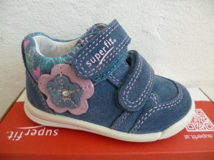Superfit Stiefel Boots Lauflern-Stiefel blau Leder Neu !!!