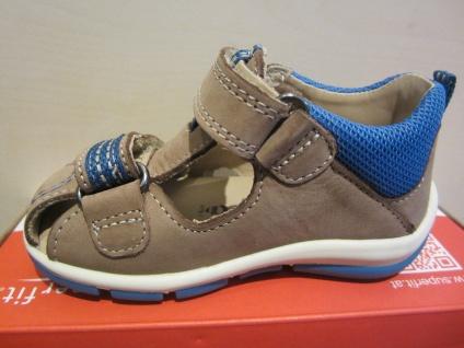 Superfit Lauflern-Stiefel Schuh Sandale braun/blau KVLederfußbett Neu !!! - Vorschau 5