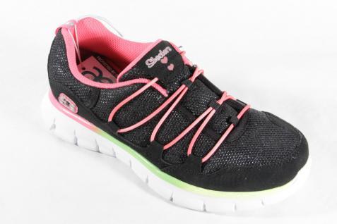Skechers Mädchen Mädchen Skechers Slipper, schwarz/pink/ grün, weiche Innensohle, NEU Beliebte Schuhe d12754