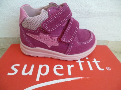 Superfit Stiefel Boots Lauflern-Stiefel fuchsia Leder 00325 Neu !!!