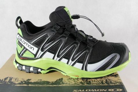 Salomon Sportschuhe Halbschuhe Sneakers XA PRO 3D GTX schwarz/ grün Neu!!!