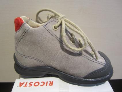 Ricosta LL-Stiefel beige/rot Lederfußbett Lederfußbett beige/rot Neu !!! 056f1e