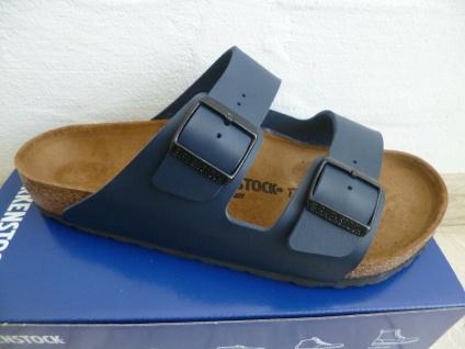 Birkenstock Arizona Pantolette Sandale Hausschuh Blau 51751 NEU!