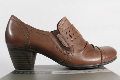 Jana Damen pfeffer Slippers, Ballerinas, Pumps Leder pfeffer Damen Weite H NEU! Beliebte Schuhe ef072c