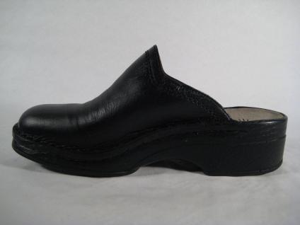 Helix schwarz, Clogs Pantoletten Pantolette Hausschuhe schwarz, Helix Echt Leder, 52011 NEU 8631bd