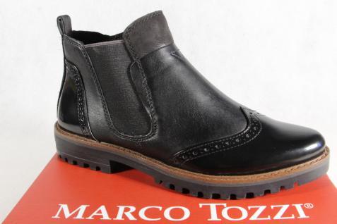 Marco Tozzi Stiefelette, Schlupfstiefel, Stiefel, Stiefel, Schlupfstiefel, Stiefelette, schwarz, 25453NEU 99fa6a