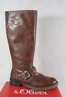 S.Oliver Damen Stiefel Stiefelette Stiefeletten Boots braun NEU !!!