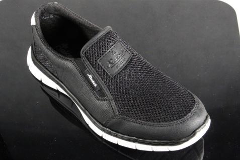 Rieker Slipper Halbschuhe, Sneaker schwarz, MemoSoft, B4870 NEU!!