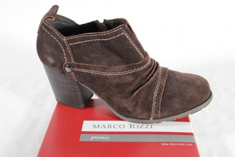 Marco Tozzi Stiefelette, braun, Reißverschluß, NEU!! weiches Fußbett, NEU!! Reißverschluß, d8723a