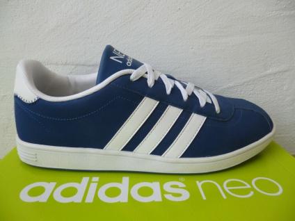 Adidas Schnürschuhe Sneakers Sportschuhe Halbschuhe blau NEU