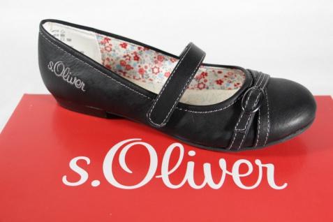 S.Oliver Ballerina Slipper Slipper Ballerina schwarz Lederinnensohle NEU!! 67c6d6