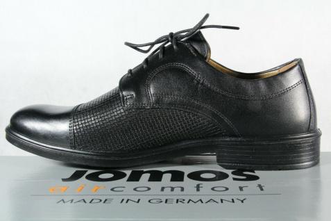Jomos Halbschuh Sneaker, schwarz, atmungsaktives Wechselfußbett 208218 NEU! - Vorschau 3