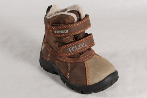Felix Knaben Polar Winterstiefel Tex Stiefel Stiefeletten Stiefel Winterstiefel Polar Leder braun NEU 05d8d9