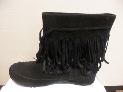Top Or Damen Stiefel Stiefelette Boots Winterstiefel schwarz NEU! SP.19, 00 € - Vorschau 3