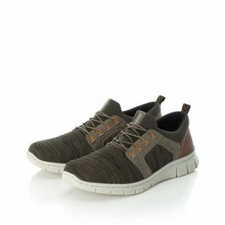 Rieker Herren Slipper Sneakers Sneaker Sportschuhe grün B7796 NEU