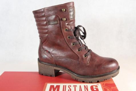 Mustang Stiefel Stiefeletten Stiefelette Boots bordeaux 1284 NEU!