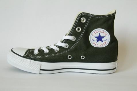 Converse All Star / Stiefel Schnürstiefel Stiefel oliv, Textil / Star Leinen, Neu!!! 221a71