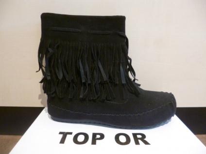 Top Or Damen Stiefel Stiefelette Boots Winterstiefel schwarz NEU! SP.19, 00 € - Vorschau 5