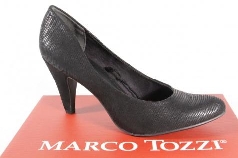 Marco Tozzi 22429 Pumps Slipper NEU! Trotteur schwarz weiche Innensohle NEU! Slipper ac1b84