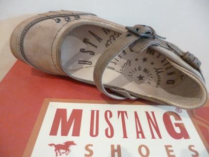Mustang Damen Pumps Slipper Ballerina NEU! braun/natur NEU! Ballerina 672e8d