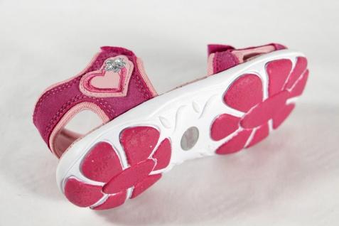 Superfit Mädchen Sandale pink/ rose, NEU!! Lederfußbett, flach NEU!! rose, 68ae48