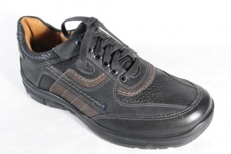 Jomos Schnürschuhe Halbschuhe Sneakers Beliebte schwarz Leder NEU Beliebte Sneakers Schuhe 3c0649